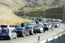 ترافیک سنگین در آزادراه تهران-کرج- قزوین و جاده چالوس
