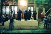 عزاداری شب پنجم محرم در محله سرچشمه گرگان