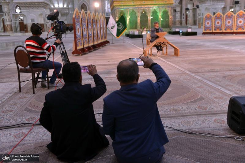 مراسم شب شهادت امام حسن عسکری(ع) در حرم مطهر امام خمینی(س)
