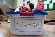 انتخابات الکترونیکی شورای دانشآموزی در یک مدرسه بجنورد برگزار شد