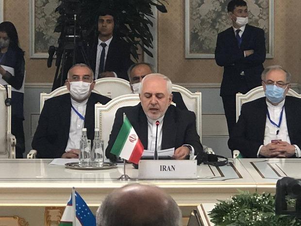 دعوت ظریف از سازمان ملل برای تسهیل مذاکرات بینالافغانی