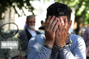 سارق حرفهای منازل مهاباد در غرب کشور دستگیر شد