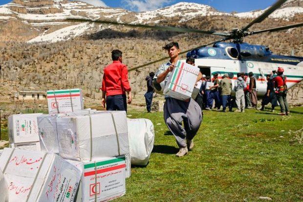 رئیس سازمان امدادونجات: 6هزار بسته غذایی در پلدختر توزیع شد