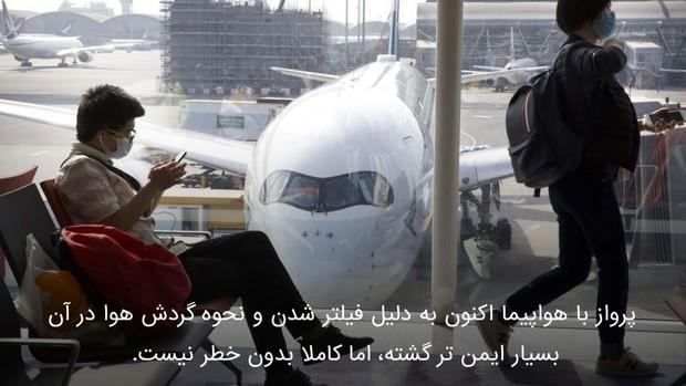 نکات ضروری سفر با هواپیما در ایام کرونا