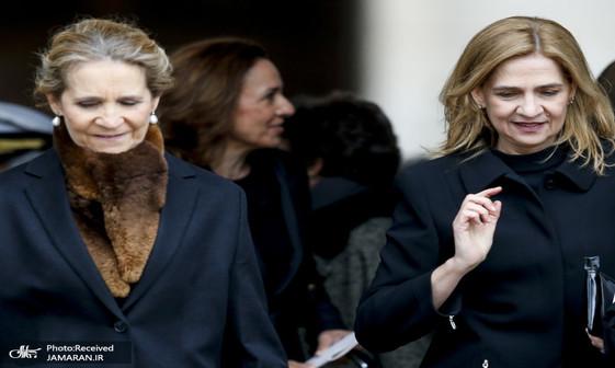 عکس/ خواهران پادشاه اسپانیا جنجال آفریدند
