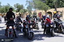 رژه موتوری به مناسبت سالگرد ارتحال امام خمینی(س) در خمین