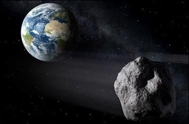 گذر سیارک 15 متری از کنار زمین