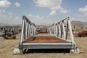 مونتاژ ۲ دستگاه پل خرپایی در سیستان و بلوچستان