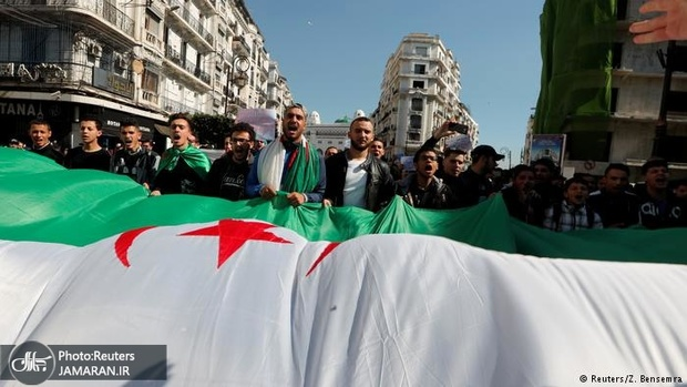 عکس/ ادامه اعتراضات الجزایر به رغم پیروزی