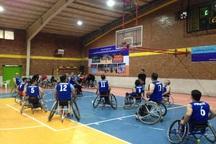 مسابقات بسکتبال با ویلچر کشور در قزوین آغاز شد