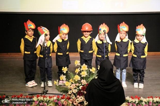 تقدیر از آتشنشانان خمین