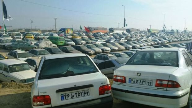 ۴۰ هکتار به ظرفیت پارکینگ شهرهای مرزی در ایام اربعین اضافه شد