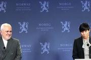 گفت و گوی ظریف و وزیر خارجه نروژ در خصوص سانحه هوایی