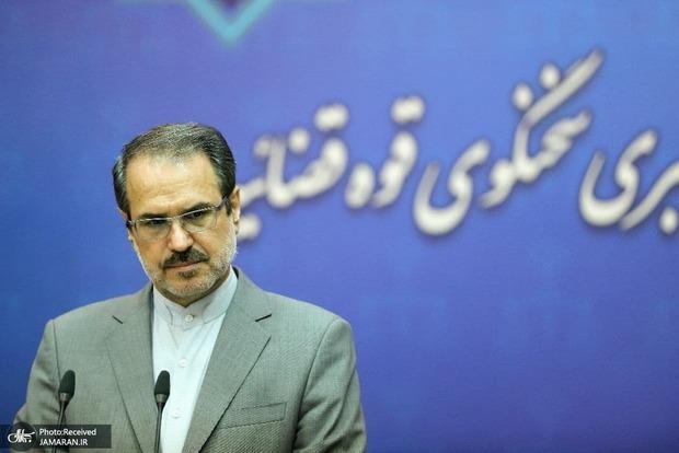 سخنگوی قوه قضاییه: حکم پرونده منافقین صادر شد/ استجازه رهبری در مورد برگزاری دادگاههای مفاسد اقتصادی تمدید شد/ امید اسد بیگی به 20 سال حبس محکوم شد