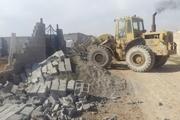 ساخت و ساز غیرمجاز در ۲۱ قطعه اراضی کشاورزی کرج تخریب شد