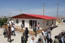 عملیات ساخت 80 واحد روستایی در قصرشیرین پایان یافت