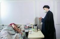 حضور رییسی در آسایشگاه جانبازان امام خمینی (ره) (6)