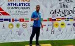 اهدای مدال طلای قهرمان پارادوومیدانی برای آزادی زندانیان