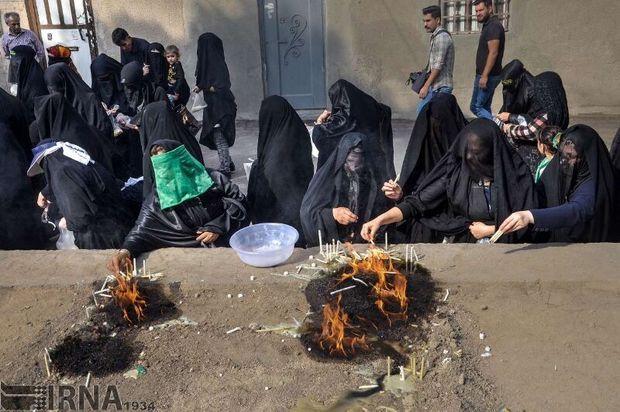 """""""چهلمنبر"""" رسمی دیرینه مردم خرمآباد  در تاسوعای حسینی"""