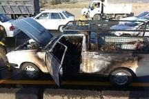 واژگونی خودرو در دامغان یک کشته برجا گذاشت