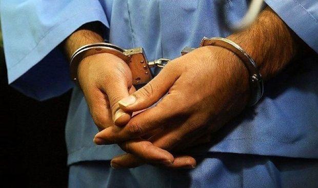 مجرم متواری زندان گچساران دستگیر شد