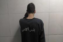 موبایل قاپ حرفه ای در پردیس دستگیر شد