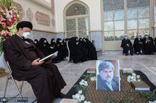 مراسم تشییع و خاکسپاری پیکر مرحوم سید مرتضی طباطبایی