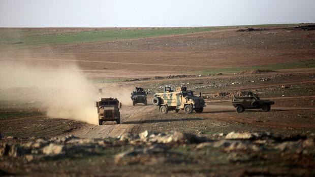 خروج نیروهای ترکیه از مواضع خود در شمال شرق سوریه