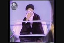 روضه حضرت علی اصغر(ع) با صدای مرحوم کوثری در حضور امام خمینی در حسینیه جماران