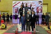 سیستان و بلوچستان قهرمان رقابت های وزنه برداری شرق کشور