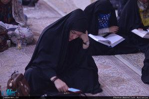 مراسم دعای پرفیض عرفه در حرم امام خمینی(س)
