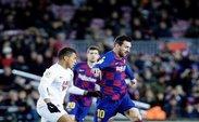 جشنواره گل بارسلونا مقابل ایبار با «پوکر» مسی