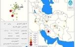 زلزله 5.1 ریشتری در استان فارس
