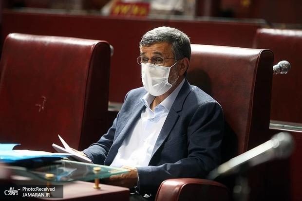 حضور محمود احمدی نژاد در جلسه امروز مجمع تشخیص مصلحت نظام + عکس