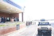 مراسم «رژه خدمت» به مناسبت روز ارتش در زاهدان برگزار شد