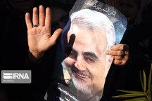 وداع یکپارچه مردم با سردار سلیمانی،بیانگر وحدت ملی است