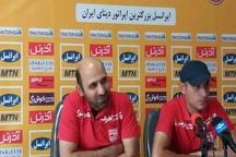 گل محمدی: با تمام توان در برابر پارس جنوبی بازی می کنیم