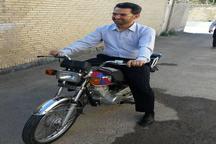 موتورسواری وزیر ارتباطات + عکس
