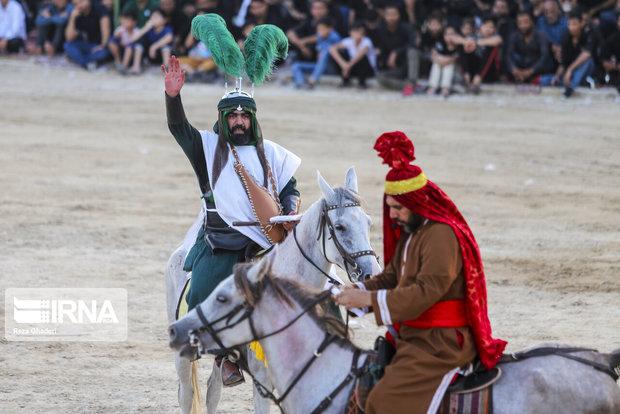 نوای حزن و دلدادگی در تعزیههای تاریخی کرمانشاه
