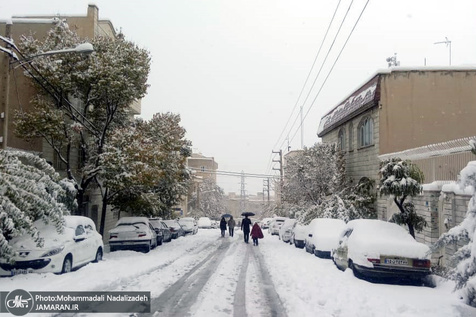 هشدار پلیس درباره بارش برف در محورهای شمال و شمال غربی کشور