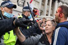اعتراض خونین در انگلیس+ تصاویر
