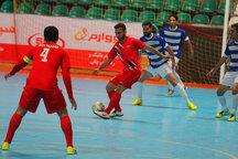 پیروزی تیم فوتسال گیتی پسند اصفهان مقابل شهروند ساری