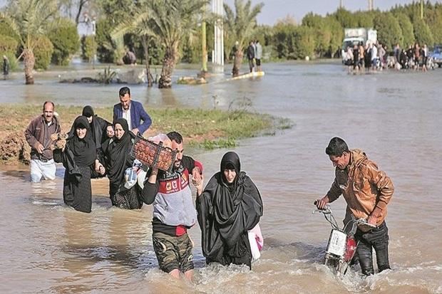 اسکان کارت برای سیل زدگان خوزستان/ اسکان اضطراری 22 هزار سیل زده