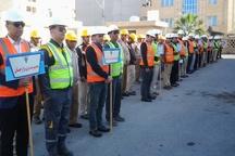 المپیاد هفتخوان مهارت های شغلی شرکت برق بوشهر آغاز شد
