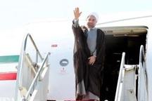 رئیس جمهوری، کردستان را به مقصد تهران ترک کرد