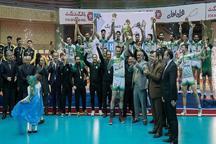 راه یاب ملل مریوان قهرمان لیگ دسته یک باشگاه های کشور شد