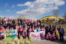همایش پیاده روی دانش آموزان بروجرد برگزار شد