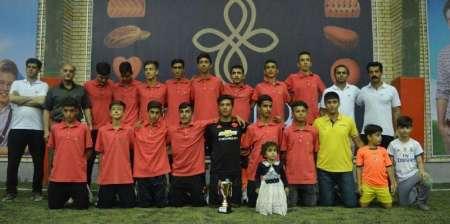 مسابقات فوتبال چهارجانبه آکادمی ذوالفقار نسب سنندج پایان یافت
