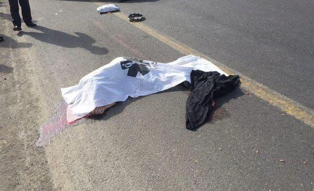 سه نفر در تصادف پژو۲۰۶ با کامیون در دامغان جان باختند