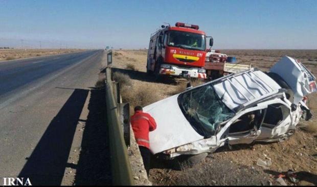38 نفر در تصادفات نوروزی در کرمان جان باختند